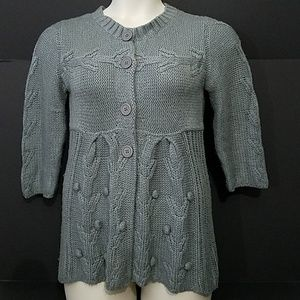 $ Delia's Gray Knit Sweater